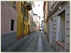 18_Eine enge Gasse in Ponte Tresa