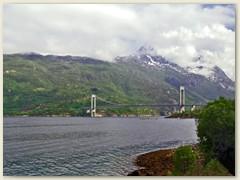 34_Eine der letzten grossen Brücken bevor wir Narvik erreichen