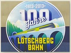 01_100 Jahre Lötschbergbahn, Jubiläumsfeier am 07./08. September 2013