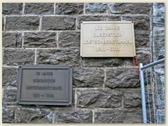 03_Erinnerungstafeln des Durchstich des Lötschbergtunnels