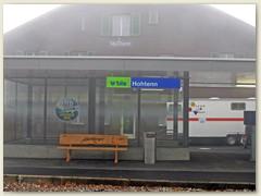 09_Die Station Hohtenn ist an diesem Tag in Nebel gehüllt