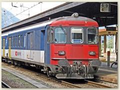 38_Ein Pendelzug, Steuerwagen verkehrt zwischen Brig und Domodossola
