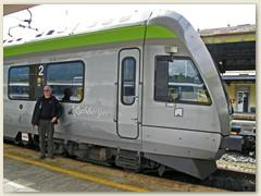 45_Mit dem BLS Regio-Express Lötschberger (Niederflur-Triebzug RABe 535  von Bombardier) zurück nach Brig