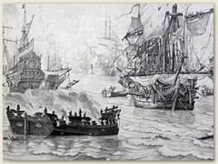 09_Viele Bilder zeigen, wie sehr die niederländische Kultur durch das Meer geprägt wurde