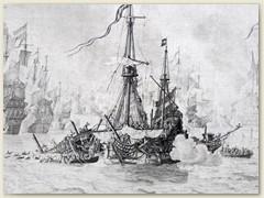 10_Bild einer früheren Seeschlacht
