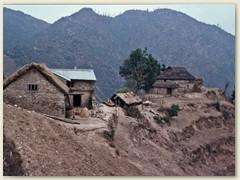 16 Die kleine Siedlung Pati Bhanjyang 1768 n