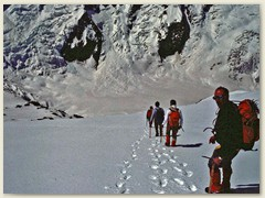 17_Abstieg vom Gipfel