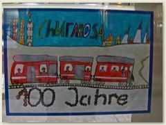 03_100 Jahre später feierten die Aroser ihre kleine Rote. Zeichnungswettbewerb der Primarklassen Chur und Schanfigg