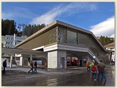 05_An diesem Tag, Eröffnungsfeier des neuen Bahnhof Arosa und Passerelle