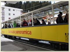 10_Die Fahrt im «Edelweiss Arosa Express» bietet ein erfrischendes Rundum-Erlebnis, 360-Grad-Panorama inbegriffen
