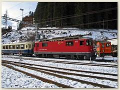 18_Einfahrt des «Alpine Classic Pullman Express»