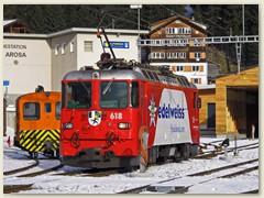 33_Die Ge 618 bereit zur Rückfahrt nach Chur