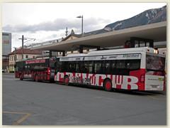 34_Ein Stadtbus beim Bahnhofplatz in Chur
