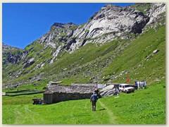 10_Lampertschalp 1989 m - eine der besten bewirtschafteten Alpen im ganzen Valsertal