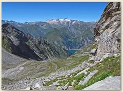 35_Unten das Val Scaradra - über Geröllhalden, steile Pfade immer weiter. Der Weg ist kaum erkennbar