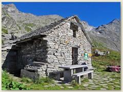 40_Unser zweites Nachtlager - Capanna Scaradra 2173 m - die Hütte ist ein kleines Bijou