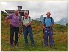 42_Wanderung mit Paul, Köbi und Hans Zervreila - Gross Guraletsch - Kapelle Pt 1984 - Zervreila