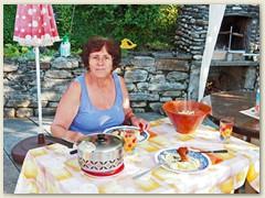 45_Nach einem heissen Tag ein Abendessen am 11. August