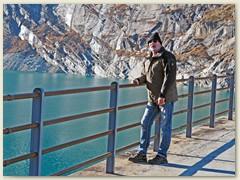 51_Im November besuchte mich Bruder Fritz. Ausflug zur Staumauer Zervreila