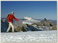 09_Zwischen 3246 m und 3248 m - Im Hintergrund Les Diablerets