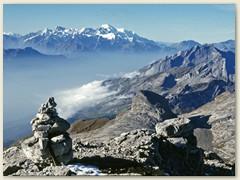 14_Das Rhonetal mit dem Mont Blanc