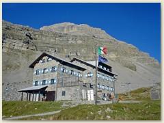 09_Das Rifugio Graffer oder Graffer-Hütte, CAI Sektion Trento