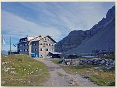 12_Die  Graffer-Hütte, ab hier sind verschiedene Übergänge zu anderen Hütten möglich