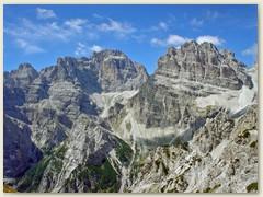 27_Die Brenta ist eine Gebirgsgruppe der Südlichen Kalkalpen, die im Trentino in Norditalien gelegen ist