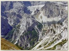 28_Weiterweg - Abstieg in die Vallazza und zum Rifugio Croz dell' Altissimo