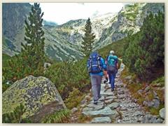 11_Beginn der zweitägigen Bergtour im Mala Studena Dolina (Kleines Kohlbachtal)