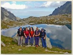 29_Wir machen Pause im Vel'ka Studena dolina nach dem Abstieg vom Prinzensattel