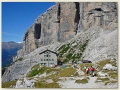 25_Das Rifugio di Brentei 2182 m