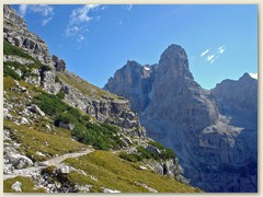 28_Sentiero Bogani - zwischen dem Rifugio di Brentei und dem Rifugio Tucket