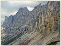 07_Der Baumannkamm - Croda Davol, Bizarre Formationen
