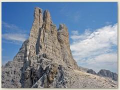 29_Die Vajolettürme stellen eines der bekanntesten Schaustücke der Alpen dar.