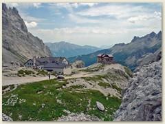 33_Das Rifugio Vaiolet und die Preuss-Hütte