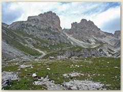 38_Die Gipfel und Massive im Vajolettal gehören zu den berühmtesten der Dolomiten