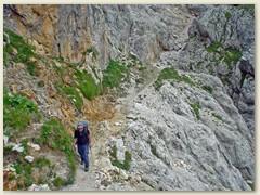 107_Kurz vor dem Ausstieg teile des Weges führen über Schuttgelder