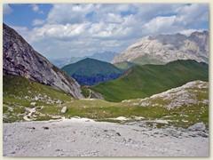 85_Der Wanderweg vom Passo Dona zum Passo Ciaregole