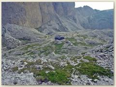 94_Vom Rif. Antermoia Aufstieg zum Passo di Lausa