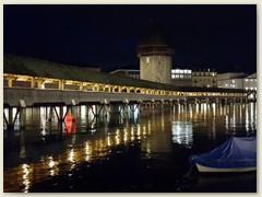 11_November 2019 - Kapellbrücke vom Rathausquai aus gesehen