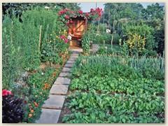 08r Gemüsebeete beim Garteneingang