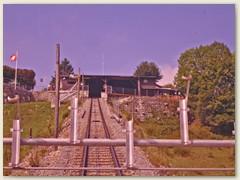 06 Bergstation in Prêles, 820 m. Balkon des Juras