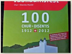 01r Logo mit Kloster Disentis