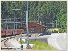 20r Einfahrt Station Reichenau-Tamins