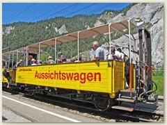 31r Railrider - Im offenen Aussichtswagen für einmal durch die wildromantische Rheinschlucht und der Surselva