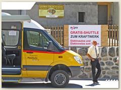 39r Tavanasa-Breil/Brigels - Postauto Extrafahrten zur Zentrale Tavanasa