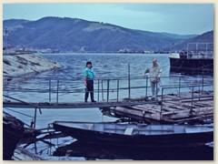 03 Kleiner Bootshafen bei Berzasca