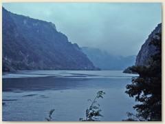 04 Das Eiserne Tor, der gefährlichste Flussabschnitt der Donau