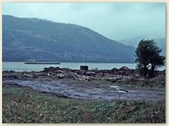 05 Die Donau - Bildet hier die Grenze zwischen Rumänien und Serbien
